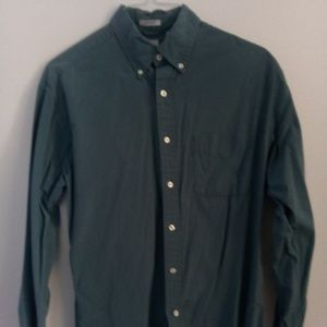 Mens blue J. Crew dress shirt button down